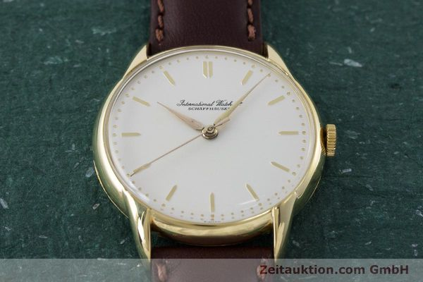 Used luxury watch IWC Portofino 18 ct gold manual winding Kal. 89 VINTAGE  | 161119 14