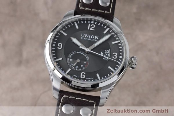 UNION GLASHÜTTE BELISAR ACIER AUTOMATIQUE KAL. U2897 LP: 2250EUR  [161120]