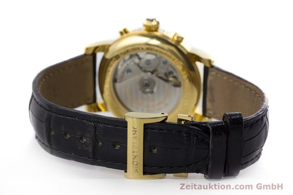 Used luxury watch Montblanc Meisterstück chronograph gold-plated automatic Kal. 4810501 ETA 7750 Ref. 7016  | 161121 11