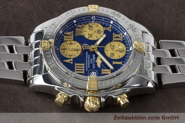 Used luxury watch Breitling Chronomat chronograph steel / gold automatic Kal. B13 ETA 7750 Ref. B13358  | 161122 05