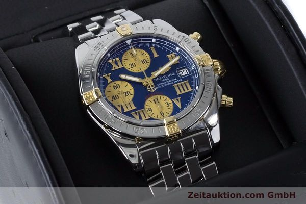 Used luxury watch Breitling Chronomat chronograph steel / gold automatic Kal. B13 ETA 7750 Ref. B13358  | 161122 07