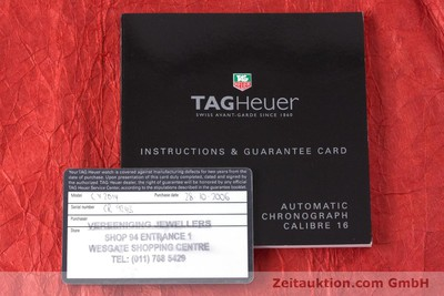TAG HEUER CARRERA CHRONOGRAPH STEEL AUTOMATIC KAL. 16 LP: 4100EUR [161125]