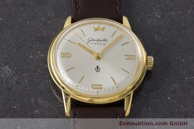 GLASHÜTTE GOLD-PLATED MANUAL WINDING KAL. 70.3 [161130]