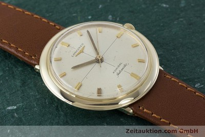 LONGINES ADMIRAL 14 CT YELLOW GOLD AUTOMATIC KAL. 340 VINTAGE [161131]