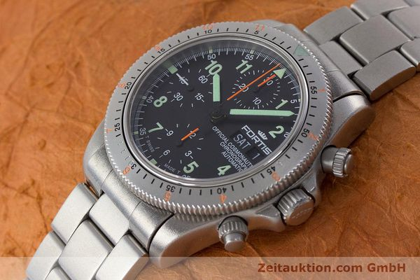 Used luxury watch Fortis Cosmonauts Chronograph chronograph steel automatic Kal. ETA 7750 Ref. 632.22.141  | 161132 01