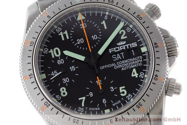 Used luxury watch Fortis Cosmonauts Chronograph chronograph steel automatic Kal. ETA 7750 Ref. 632.22.141  | 161132 02
