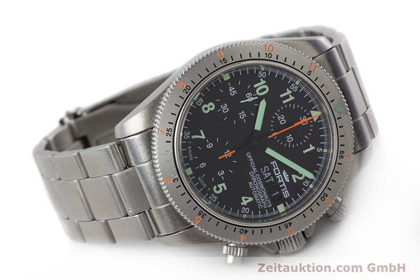 Used luxury watch Fortis Cosmonauts Chronograph chronograph steel automatic Kal. ETA 7750 Ref. 632.22.141  | 161132 03