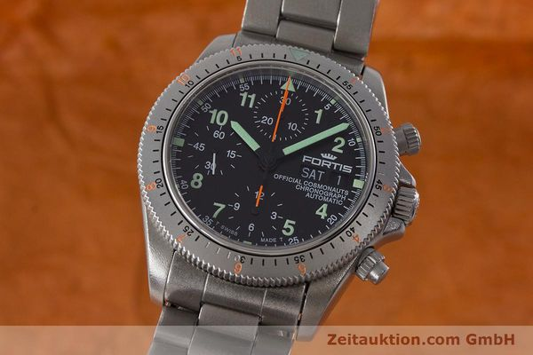 Used luxury watch Fortis Cosmonauts Chronograph chronograph steel automatic Kal. ETA 7750 Ref. 632.22.141  | 161132 04