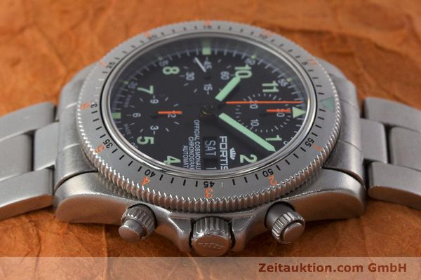 Used luxury watch Fortis Cosmonauts Chronograph chronograph steel automatic Kal. ETA 7750 Ref. 632.22.141  | 161132 05