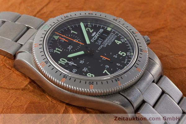 Used luxury watch Fortis Cosmonauts Chronograph chronograph steel automatic Kal. ETA 7750 Ref. 632.22.141  | 161132 14