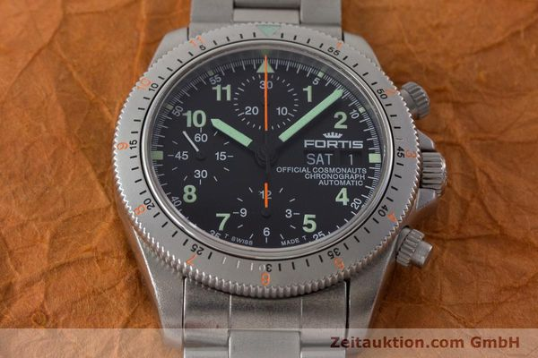 Used luxury watch Fortis Cosmonauts Chronograph chronograph steel automatic Kal. ETA 7750 Ref. 632.22.141  | 161132 15