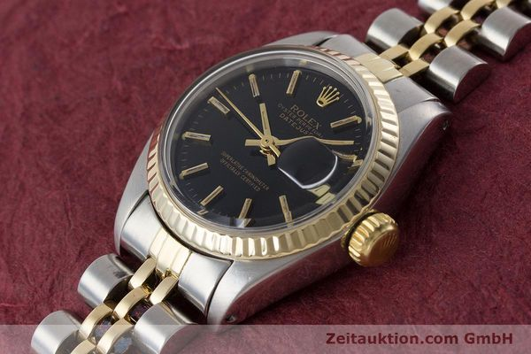 Used luxury watch Rolex Lady Datejust steel / gold automatic Kal. 2030 Ref. 6917  | 161134 01