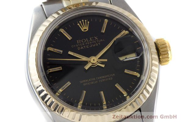 Used luxury watch Rolex Lady Datejust steel / gold automatic Kal. 2030 Ref. 6917  | 161134 02