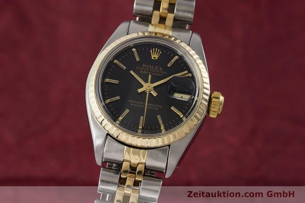 Used luxury watch Rolex Lady Datejust steel / gold automatic Kal. 2030 Ref. 6917  | 161134 04