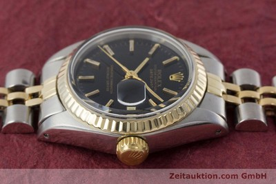 ROLEX LADY OYSTER DATEJUST GOLD / STAHL DAMENUHR AUTOMATIK 6917 VP: 6950,- EURO [161134]
