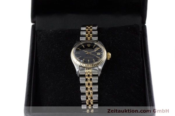 Used luxury watch Rolex Lady Datejust steel / gold automatic Kal. 2030 Ref. 6917  | 161134 07