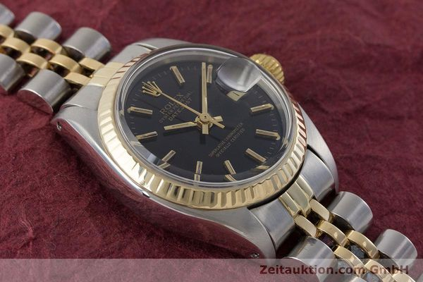 Used luxury watch Rolex Lady Datejust steel / gold automatic Kal. 2030 Ref. 6917  | 161134 14