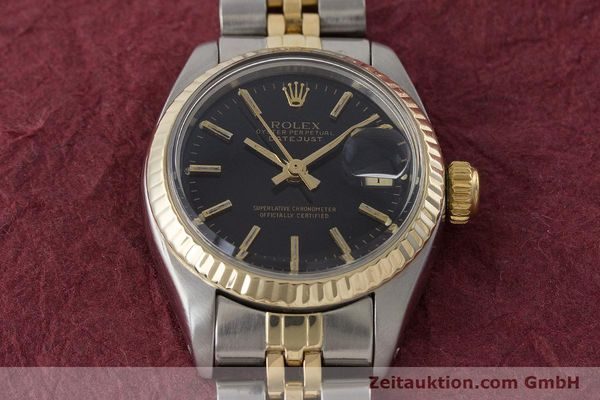 Used luxury watch Rolex Lady Datejust steel / gold automatic Kal. 2030 Ref. 6917  | 161134 15