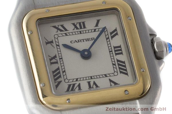 Used luxury watch Cartier Panthere steel / gold quartz Kal. 157  | 161135 02