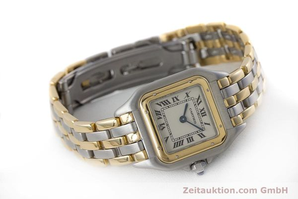 Used luxury watch Cartier Panthere steel / gold quartz Kal. 157  | 161135 03