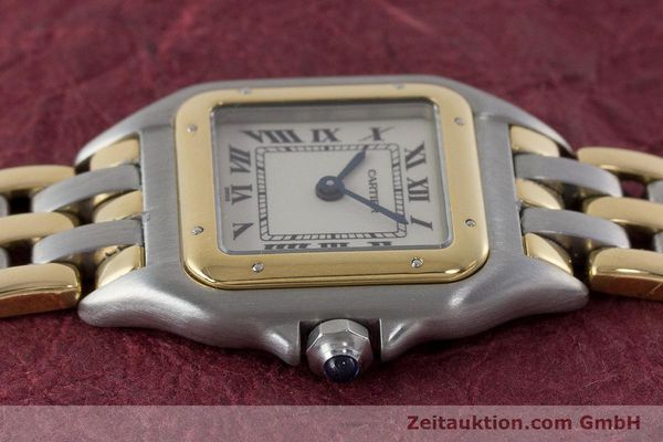 Used luxury watch Cartier Panthere steel / gold quartz Kal. 157  | 161135 05