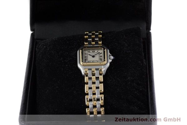 Used luxury watch Cartier Panthere steel / gold quartz Kal. 157  | 161135 07