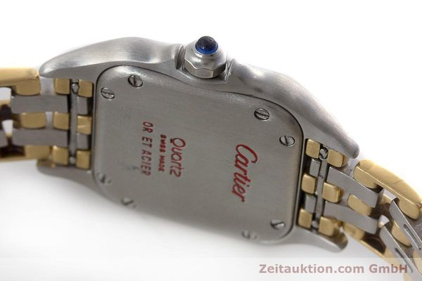 Used luxury watch Cartier Panthere steel / gold quartz Kal. 157  | 161135 08