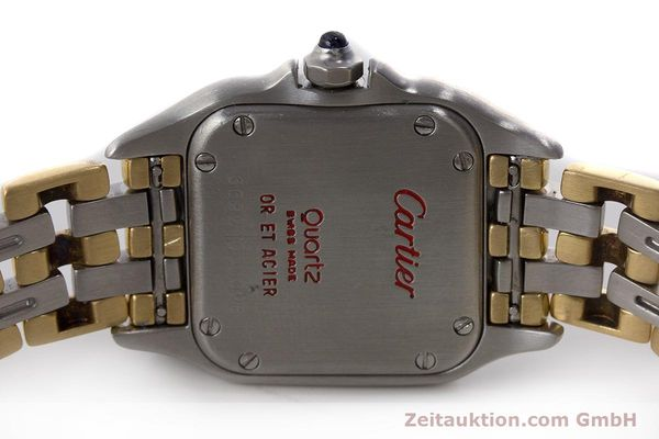 Used luxury watch Cartier Panthere steel / gold quartz Kal. 157  | 161135 09