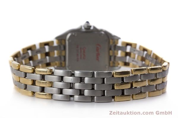 Used luxury watch Cartier Panthere steel / gold quartz Kal. 157  | 161135 10