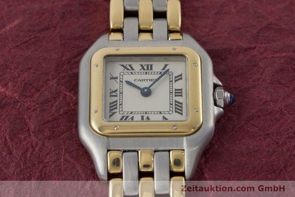 Used luxury watch Cartier Panthere steel / gold quartz Kal. 157  | 161135 13