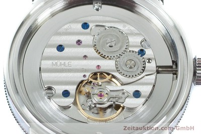 MÜHLE TEUTONIA III STEEL MANUAL WINDING KAL. MU9412 SILLITAS SW200-1 LP: 2250EUR [161136]