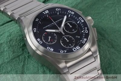 PORSCHE DESIGN DASHBORD CHRONOGRAPHE TITANE AUTOMATIQUE KAL. ETA 7753 LP: 4250EUR [161138]