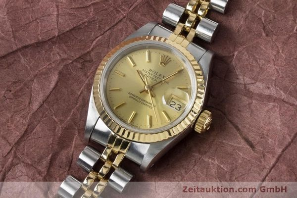 Used luxury watch Rolex Lady Datejust steel / gold automatic Kal. 2135 Ref. 69173  | 161139 01