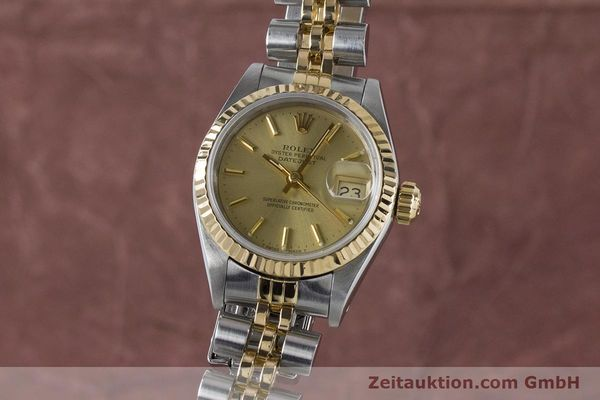 ROLEX LADY DATEJUST STEEL / GOLD AUTOMATIC KAL. 2135 LP: 6950EUR [161139]