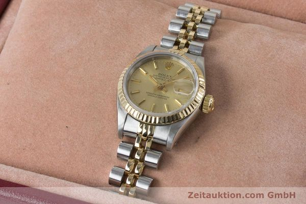 Used luxury watch Rolex Lady Datejust steel / gold automatic Kal. 2135 Ref. 69173  | 161139 07