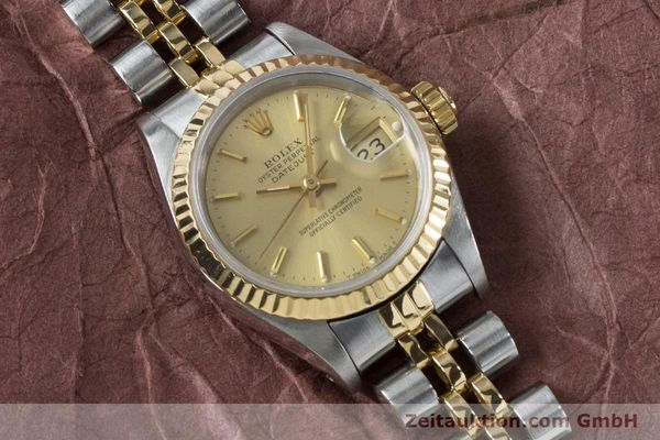 Used luxury watch Rolex Lady Datejust steel / gold automatic Kal. 2135 Ref. 69173  | 161139 15