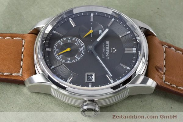 Used luxury watch Eterna Adventic steel automatic Kal. 3914A Ref. 7661.41  | 161140 05