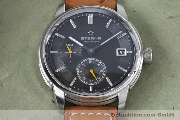 Used luxury watch Eterna Adventic steel automatic Kal. 3914A Ref. 7661.41  | 161140 17