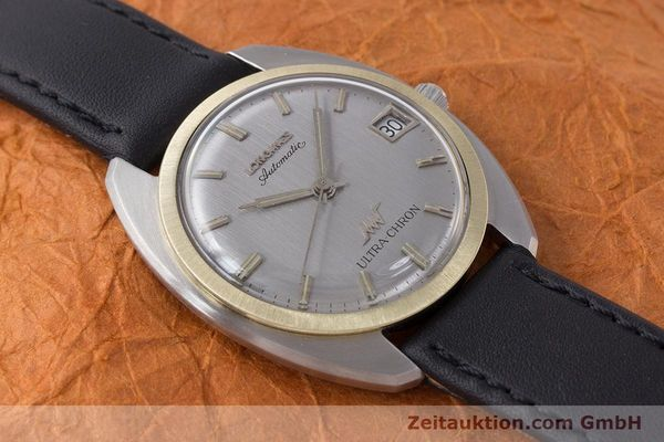Used luxury watch Longines Ultra Chron steel / gold automatic Kal. 6652 Ref. 2924-431 VINTAGE  | 161147 13