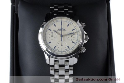 UNION GLASHÜTTE KLASSIK CHRONOGRAPHE ACIER AUTOMATIQUE KAL. 26-31 LP: 0EUR [161150]