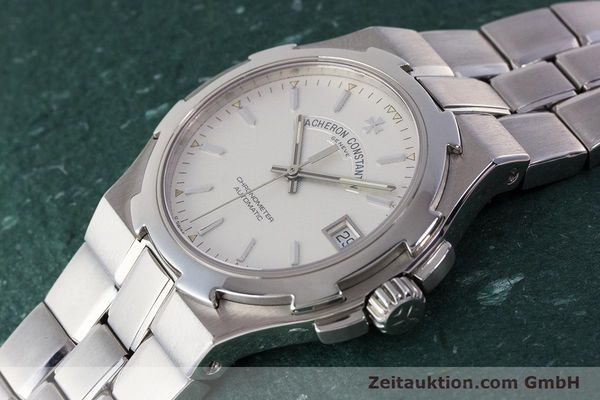 Used luxury watch Vacheron & Constantin Overseas steel automatic Kal. 1310  | 161153 01
