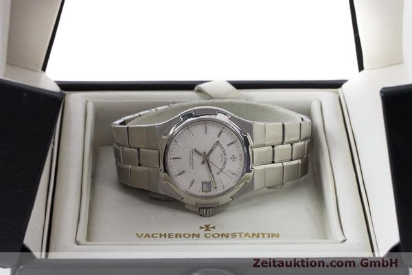 Used luxury watch Vacheron & Constantin Overseas steel automatic Kal. 1310  | 161153 07