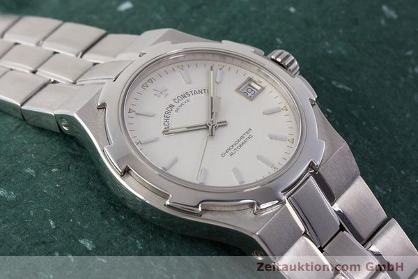 Used luxury watch Vacheron & Constantin Overseas steel automatic Kal. 1310  | 161153 16