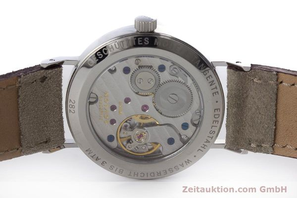 Used luxury watch Nomos Tangente steel manual winding Kal. Alpha  | 161155 09