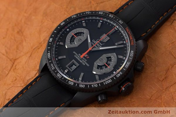 Used luxury watch Tag Heuer Carrera chronograph titanium automatic Kal. 17 ETA 2894-2 Ref. CAV518K  | 161159 01
