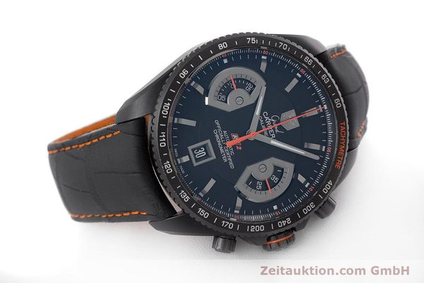 Used luxury watch Tag Heuer Carrera chronograph titanium automatic Kal. 17 ETA 2894-2 Ref. CAV518K  | 161159 03