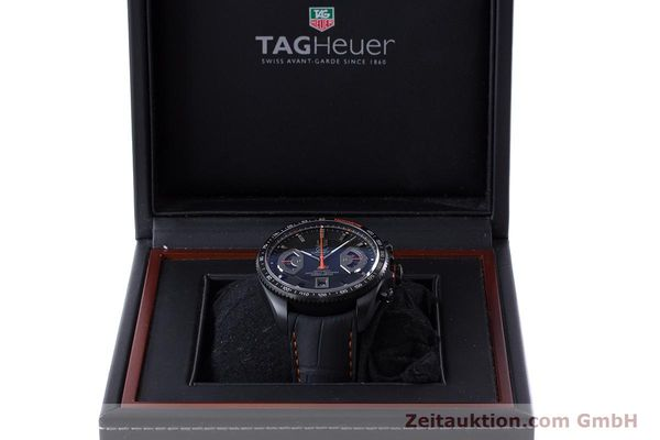 Used luxury watch Tag Heuer Carrera chronograph titanium automatic Kal. 17 ETA 2894-2 Ref. CAV518K  | 161159 07