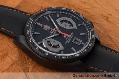TAG HEUER GRAND CARRERA CALIBRE 17 RS2 CHRONOGRAPH TITAN CAV518K NP: 6700,- EURO [161159]