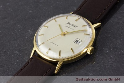 GLASHÜTTE SPEZIMATIC GOLD-PLATED AUTOMATIC KAL. 75 VINTAGE [161160]