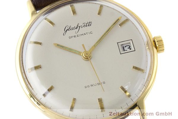 Used luxury watch Glashütte Spezimatic gold-plated automatic Kal. 75 VINTAGE  | 161160 02